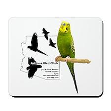 Arizona Bird Clinic Budgie Mousepad