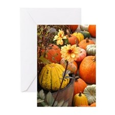Autumn Flower Greeting Cards (Pk of 10)