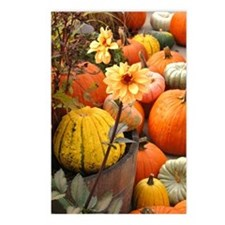 Autumn Flower Postcards (Package of 8)