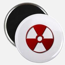 Radiation Warning Symbol - Magnet