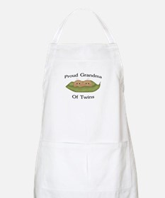 Proud Grandma Of Twins BBQ Apron