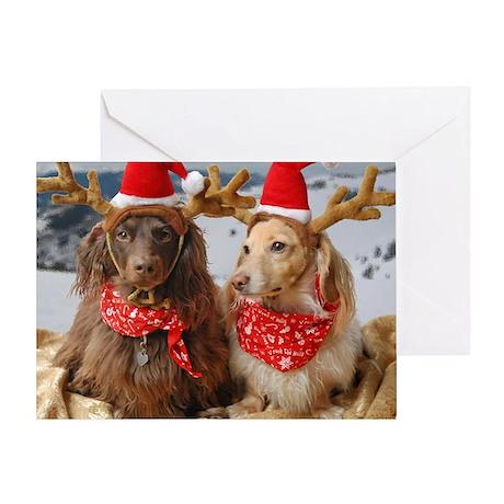 Reindeers Greeting Card