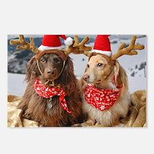 Reindeers Postcards (Package of 8)