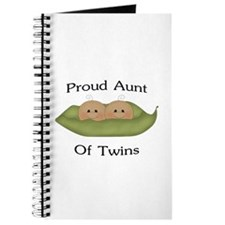 Proud Aunt Of Twins Journal