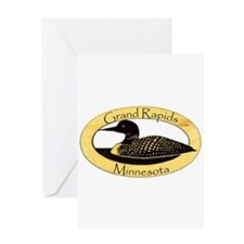 Grand Rapids Loon Greeting Card
