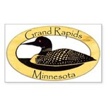 Grand Rapids Loon Sticker (Rectangle)
