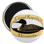 "Grand Rapids Loon 2.25"" Magnet (100 pack)"