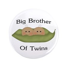 """Big Brother Of Twins 3.5"""" Button"""