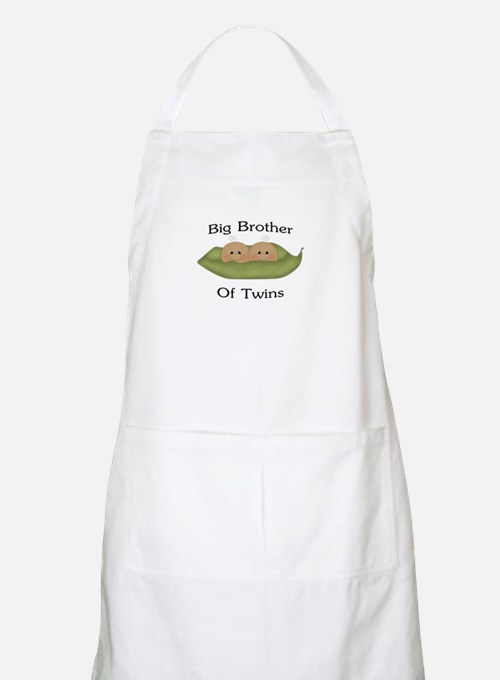 Big Brother Of Twins BBQ Apron