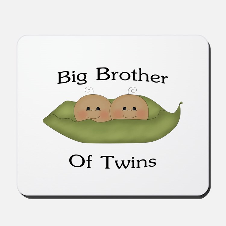 Big Brother Of Twins Mousepad