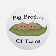 Big Brother Of Twins Ornament (Round)