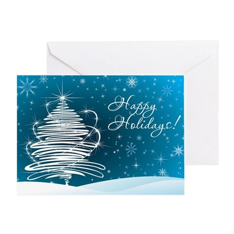 Stellar Holiday Greeting Card