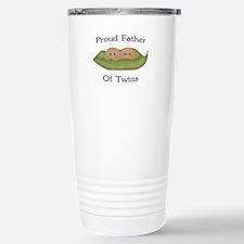 Proud Father Of Twins Travel Mug