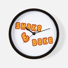 Shake & Bake Wall Clock