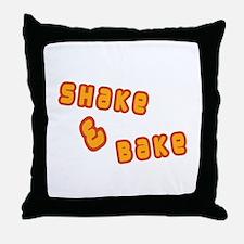 Shake & Bake Throw Pillow