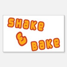 Shake & Bake Rectangle Decal