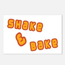 Shake & Bake Postcards (Package of 8)