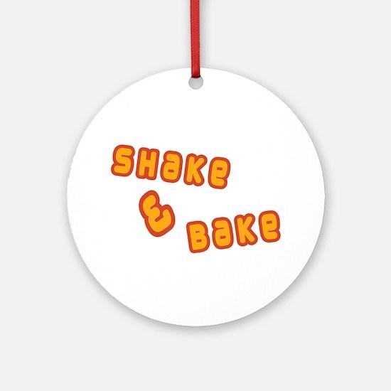 Shake & Bake Ornament (Round)