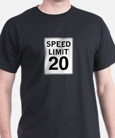 Speed Limit 20 T-Shirt