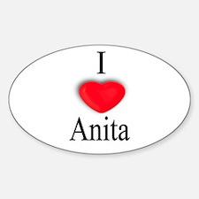 Anita Oval Decal