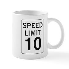 Speed Limit 10 Mug