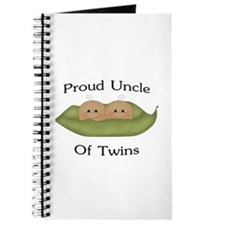 Proud Uncle Of Twins Journal
