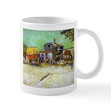 Gypsy Camp near Arles Mug