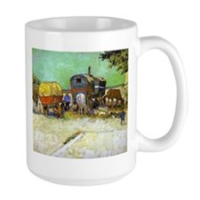 Gypsy Camp near Arles Mug