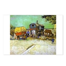 Gypsy Camp near Arles Postcards (Package of 8)