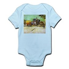Gypsy Camp near Arles Infant Bodysuit