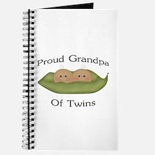 Proud Grandpa Of Twins Journal