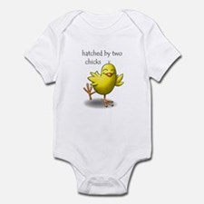 hatched by two chicks Onesie