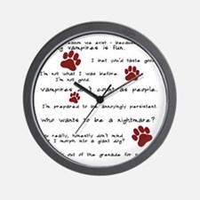 Cute Jacob twilight Wall Clock