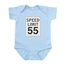 Speed Limit 55 Infant Bodysuit