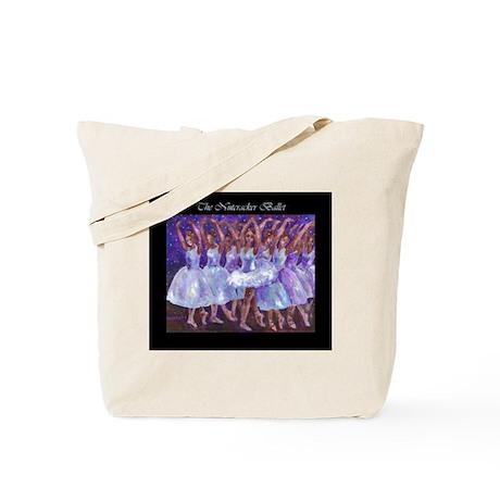 Nutcracker Snow Dance Tote Bag