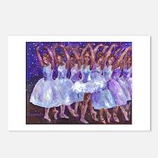 Nutcracker Snow Dance Postcards (Package of 8)