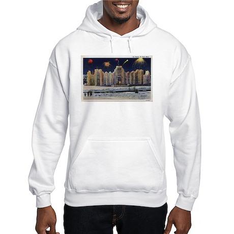 1937 Winter Carnival Ice Palace Hooded Sweatshirt
