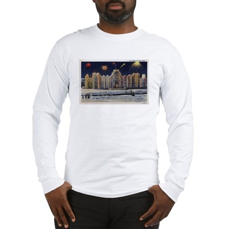 1937 Winter Carnival Ice Palace Long Sleeve T-Shir