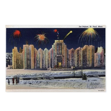 1937 Winter Carnival Ice Palace Postcards (Package