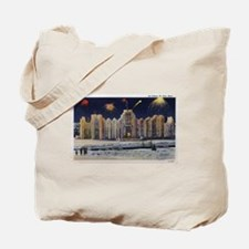 1937 Winter Carnival Ice Palace Tote Bag