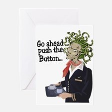 go ahead! Greeting Card