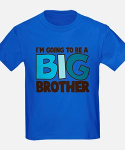 i'm going to be a big brother t-shirt T