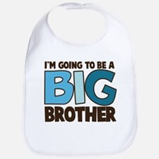i'm going to be a big brother t-shirt Bib
