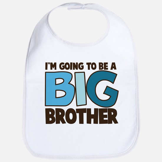 i'm going to be a big brother t-shirt Bib