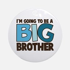 i'm going to be a big brother t-shirt Ornament (Ro