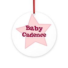 Baby Cadence Ornament (Round)