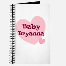 Baby Bryanna Journal