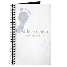 Cute Foot prints Journal