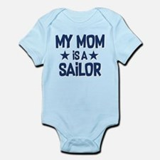 U.S. Navy My Mom Is A Sailor Infant Bodysuit