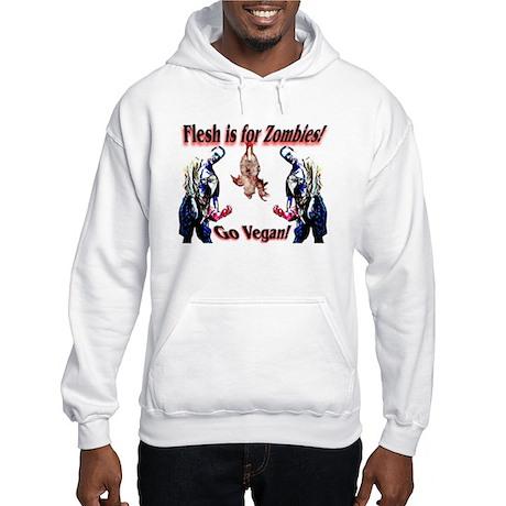 Vegan Zombies Hooded Sweatshirt